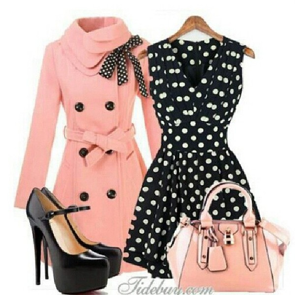 bag pocket book dress coat shoes