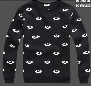 2013 Fashion KENZO1 Printing Eyes Sweater Woman Star Show Thicken Sweaters | eBay