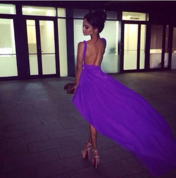 dress violet dress gorgeous dresses