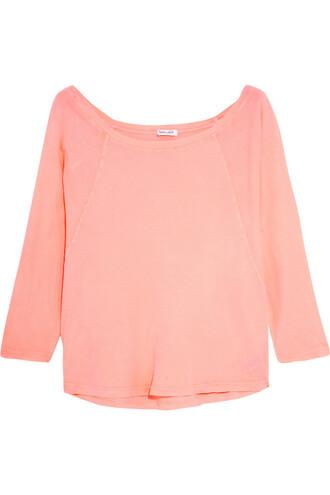 top vintage neon cotton pink bright