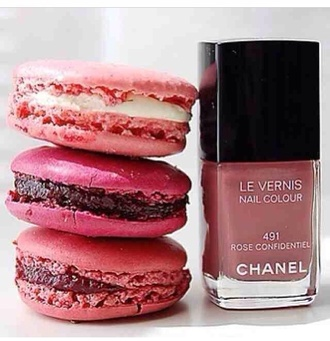 nail polish chanel inspired pink rose xxx
