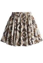 skirt,chicwish,atec wool blend skirt,floral mini skirt,fashion and chic