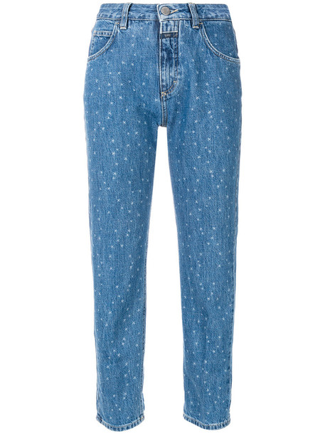 Closed jeans women cotton blue