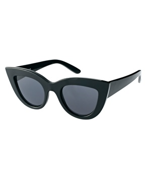 ASOS | ASOS Flat Top Cat Eye Sunglasses at ASOS