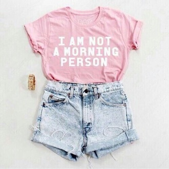 shirt pink rose tshirt. cool casual