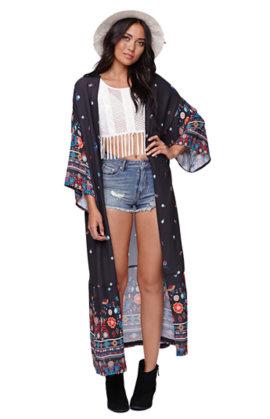 Kendall and Kylie Maxi Kimono at PacSun.com