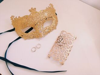 mask jewels gold masquerade masquerade mask ring pattern