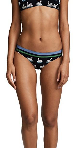 Stella McCartney bikini bikini bottoms classic print white black swimwear