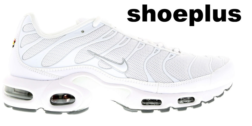 "premium selection 0e473 13e74 Nike Air Max Plus Tuned 1 Tn ""Triple White"" All Sizes Limited Edition"