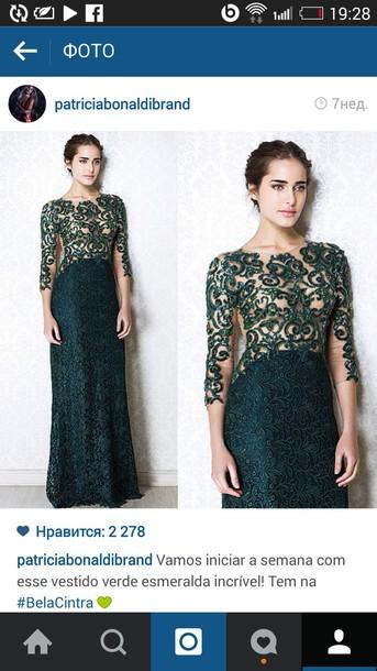 dress dress green