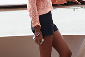 sweater,pink,cut-out,summer,lovely
