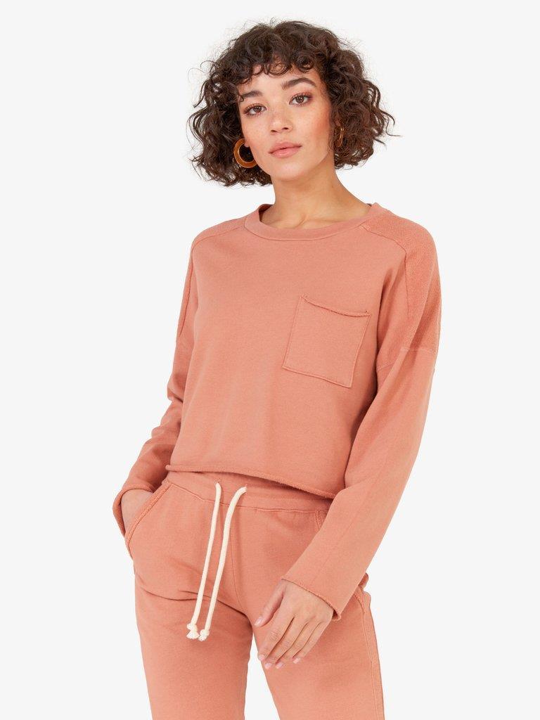 The Carson Sweater / Terracotta