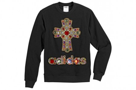 Adidas x Jeremy Scott Cross Sweater ($100-200) - Svpply
