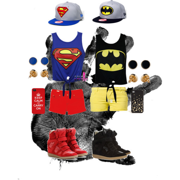 phone cover batman superman matching outfits bff top make-up hat nail accessories skirt shorts socks shoes