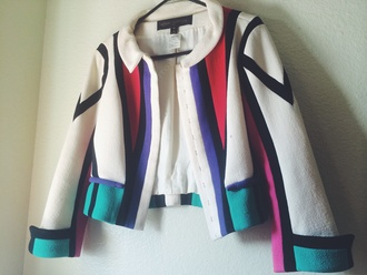 colorblock fashion jacket vintage louis vuitton sydney fashion blogger picasso vogue