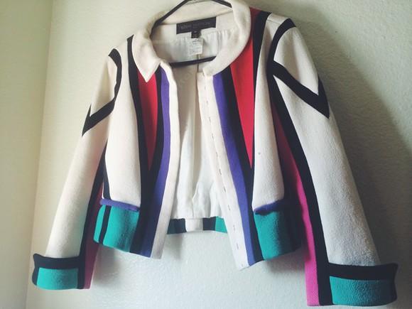 color block jacket fashion louis vuitton vintage sydney fashion blogger picasso marc jacobs vogue