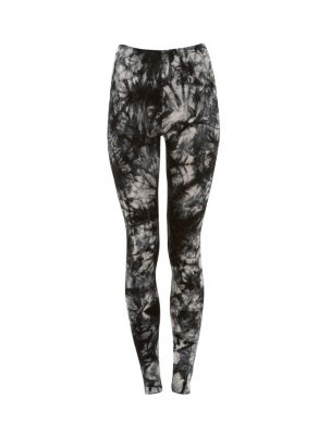 Parisian Black Tie Dye Leggings