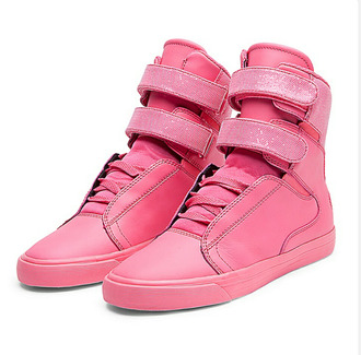 shoes pink supras high top sneakers