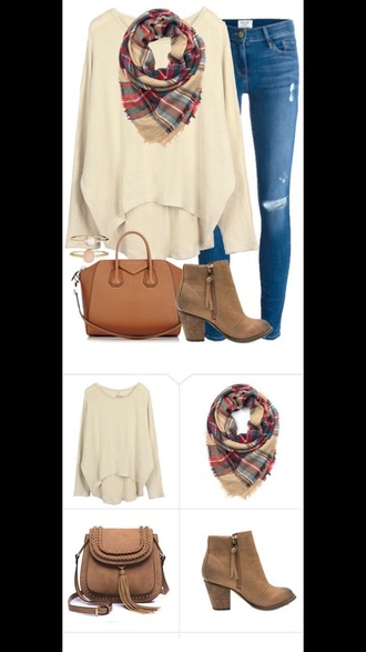 sweater beige sweater fall outfits