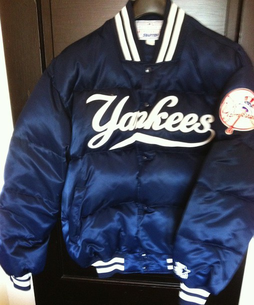 Jacket: starter, nylon, college, padded, winter coat, baseball ...