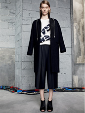 pants,sandro,lookbook,shoes,coat,sweater