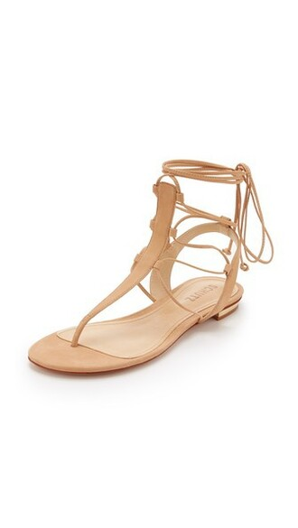 wood light sandals shoes