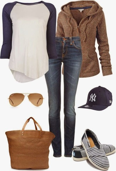 brown fall outfits new york city