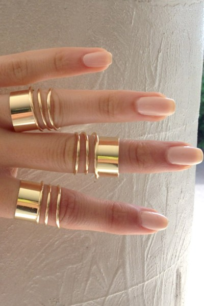 SABO SKIRT  Coil Cuff Ring - (No Colour Specified) - 12.0000