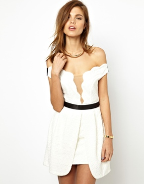 Three Floor | Three Floor White Out Dress at ASOS