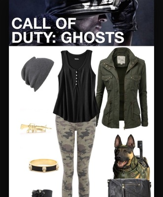 leggings camo leggings shirt green jacket