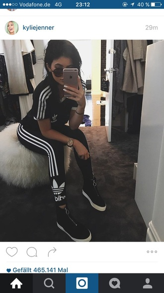 pants adidas kylie jenner