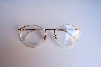 sunglasses transparent glasses clear frames tumblr clear glasses vintage retro glasses vintage glasses round frame glasses