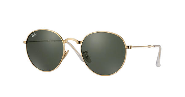 Look who's looking at this new Ray-Ban Round Metal Folding
