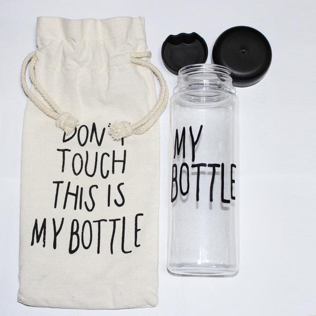Online Shop Quot My Bottle Quot 500 Ml Korea Style Plastic Clear