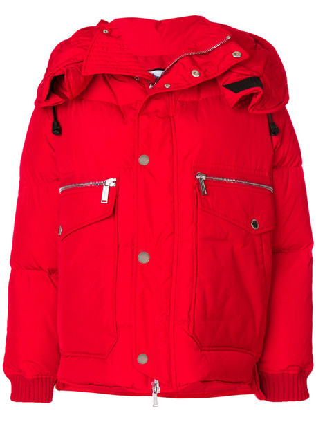 Dsquared2 jacket down jacket women red