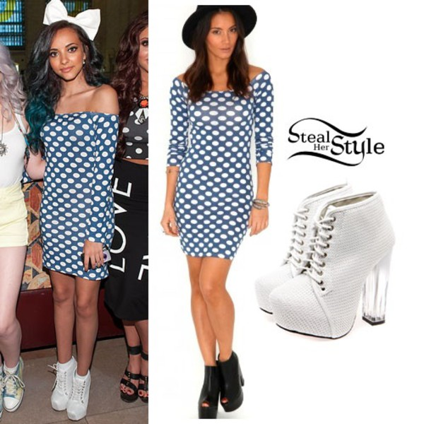 jade thirlwall little mix shoes hair accessory