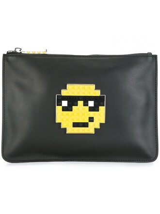 envelope clutch boss clutch black bag