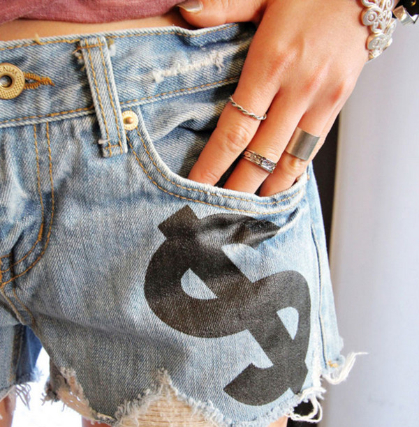 shorts denim denim shorts jeans denim shorts jewelry jewels ring rings and tings ring ring my bell fashion