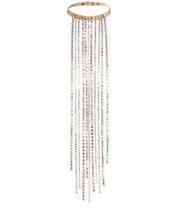 MAISON MARTIN MARGIELA H&M Large Necklace Bangle Kette Rhinestone Leather MMM | eBay