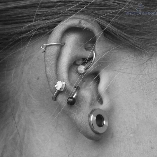 jewels earrings grunge