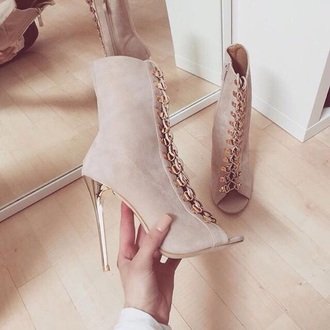 shoes highheels suredes. booots beige tan heels high heels olive green black
