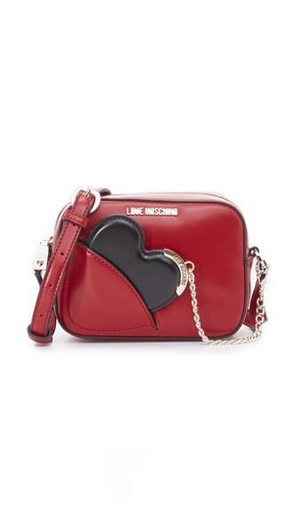cross love bag red