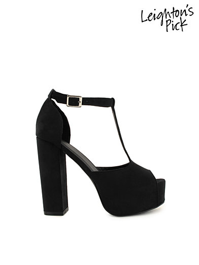 Chunky T - Bar - Nly Shoes - Black - Party Shoes - Shoes - Women - Nelly.com
