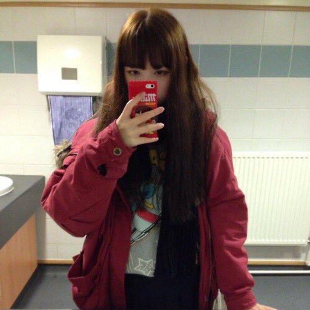 jacket girly cute kawaii pastel ulzzang korean fashion chinese japan japanese shojo anorak pink red girl