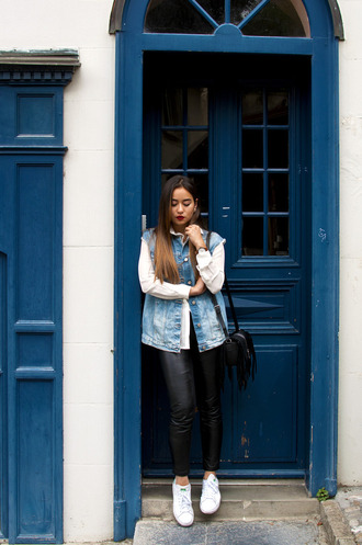 blaastyle blogger jacket shirt pants shoes bag jewels