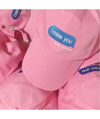 hat cap pink fashion style cute teenagers quote on it it girl shop