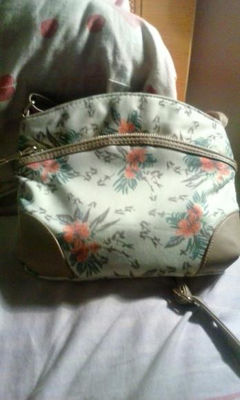 floral bag crossbody bag