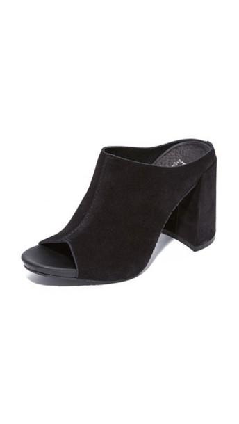 Pedro Garcia mules black shoes