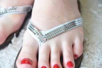 shoes wedding shoes flip-flops bridal flip flops