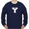 Y fonts unisex sweatshirts